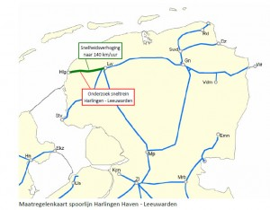 spoorlijn westergozone