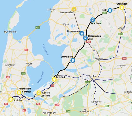Noordlink Werkgroep Spoor In Friesland